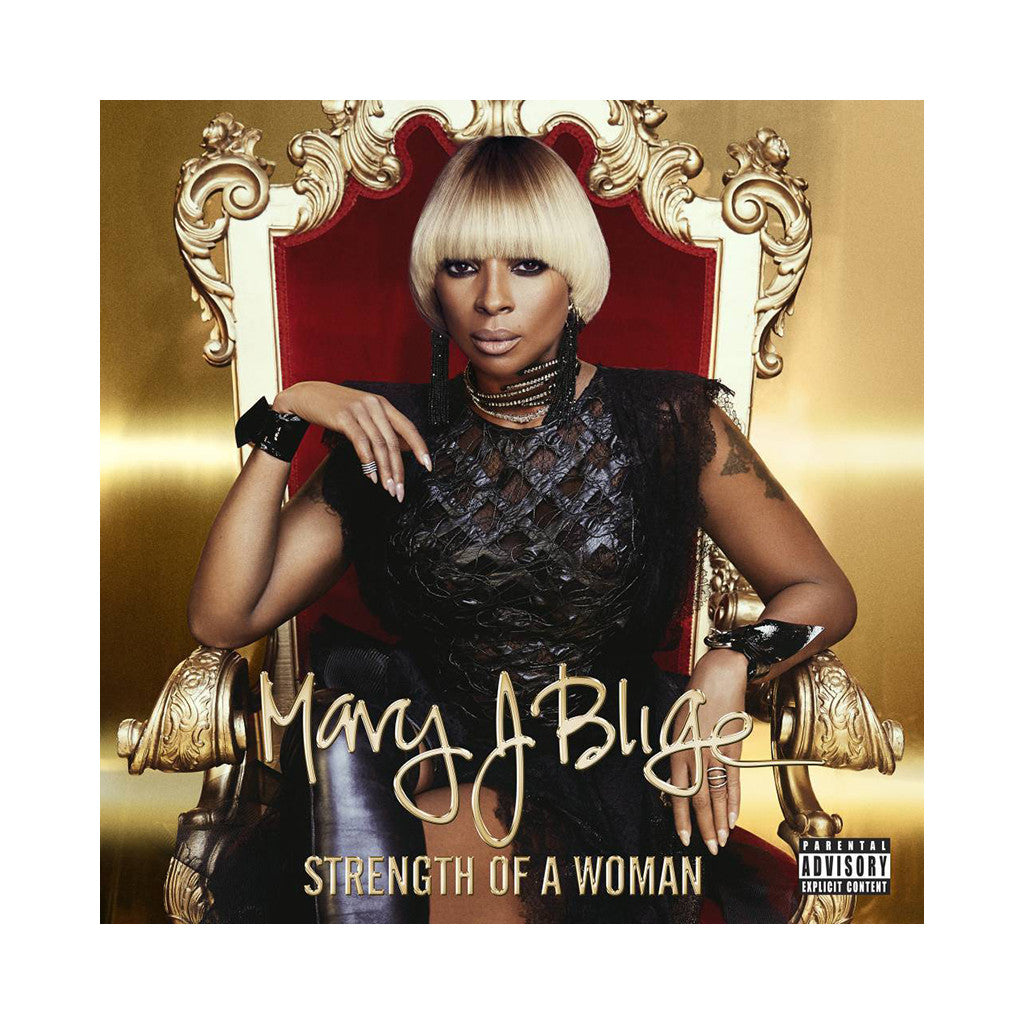 Mary J. Blige - 'Strength of a Woman' [CD]