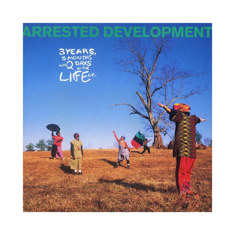 Arrested Development - '3 Years, 5 Months & 2 Days in the Life Of... (Re-Issue)' [(Black) Vinyl LP]