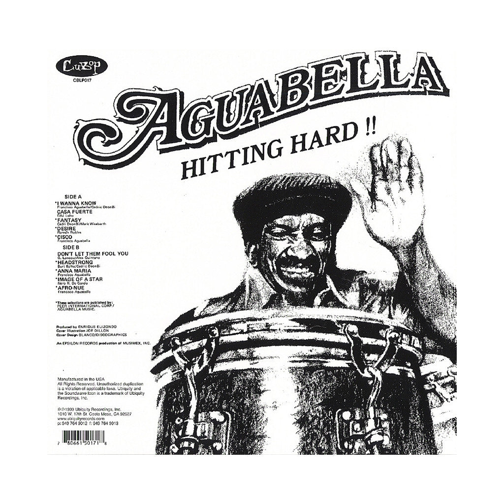 Francisco Aguabella - 'Hitting Hard!!' [(Black) Vinyl LP]