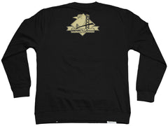 <!--2012011042-->Counter Balance Clothing x Hieroglyphics - 'Gold Rush' [(Black) Crewneck Sweatshirt]