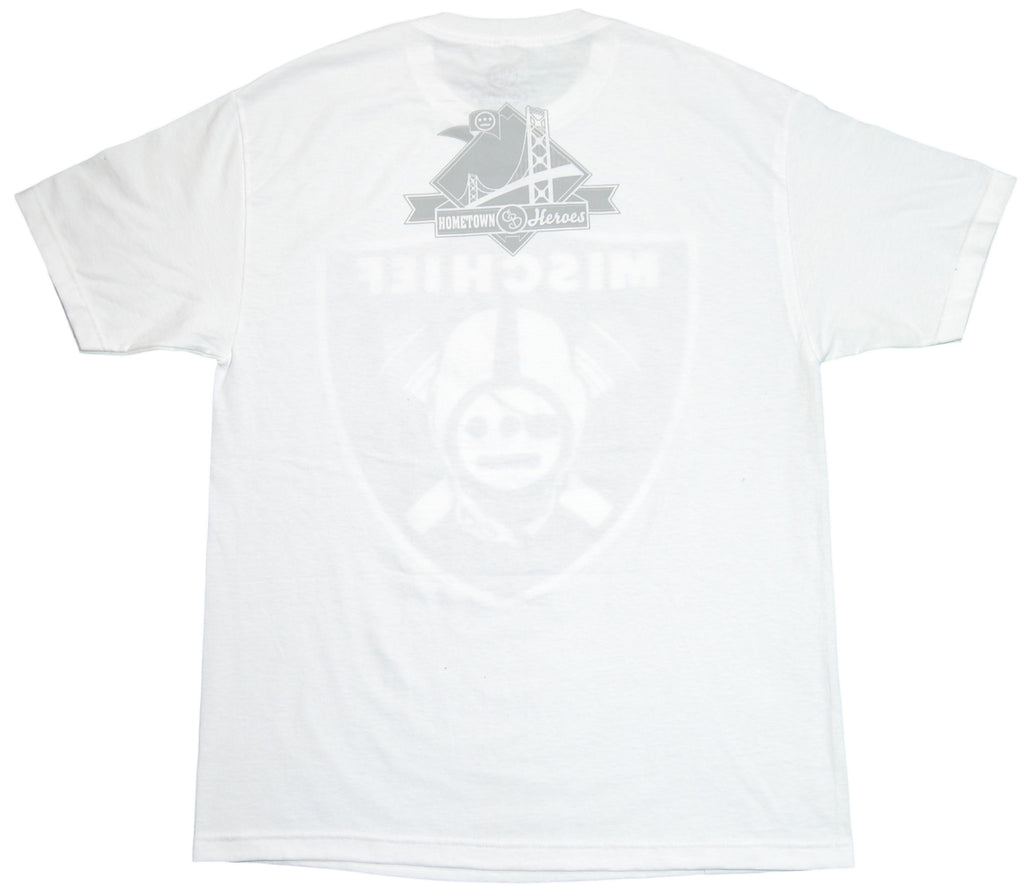 <!--2012011016-->Counter Balance Clothing x Souls Of Mischief - 'Oakland Blackout' [(White) T-Shirt]