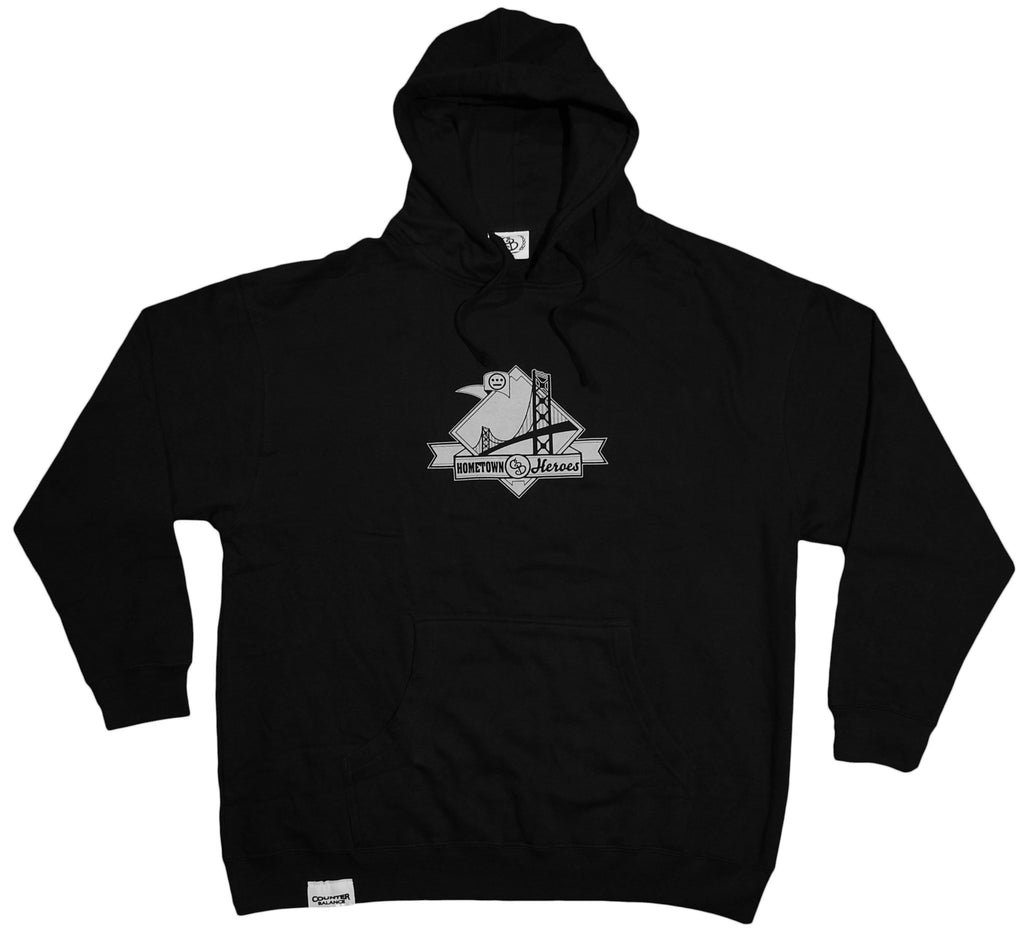 <!--2012011025-->Counter Balance Clothing x Souls Of Mischief - 'Oakland Blackout' [(Black) Hooded Sweatshirt]