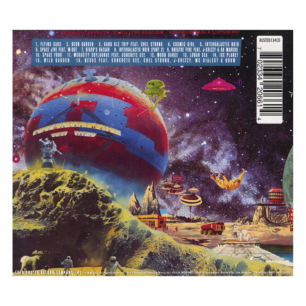 Jenova 7 & Eddie Shinn - 'A Cosmic Safari' [CD]