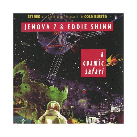 Jenova 7 & Eddie Shinn - 'A Cosmic Safari' [(Black) Vinyl LP]