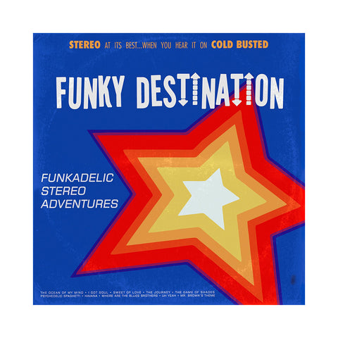 Funky Destination - 'Funkadelic Stereo Adventures' [CD]