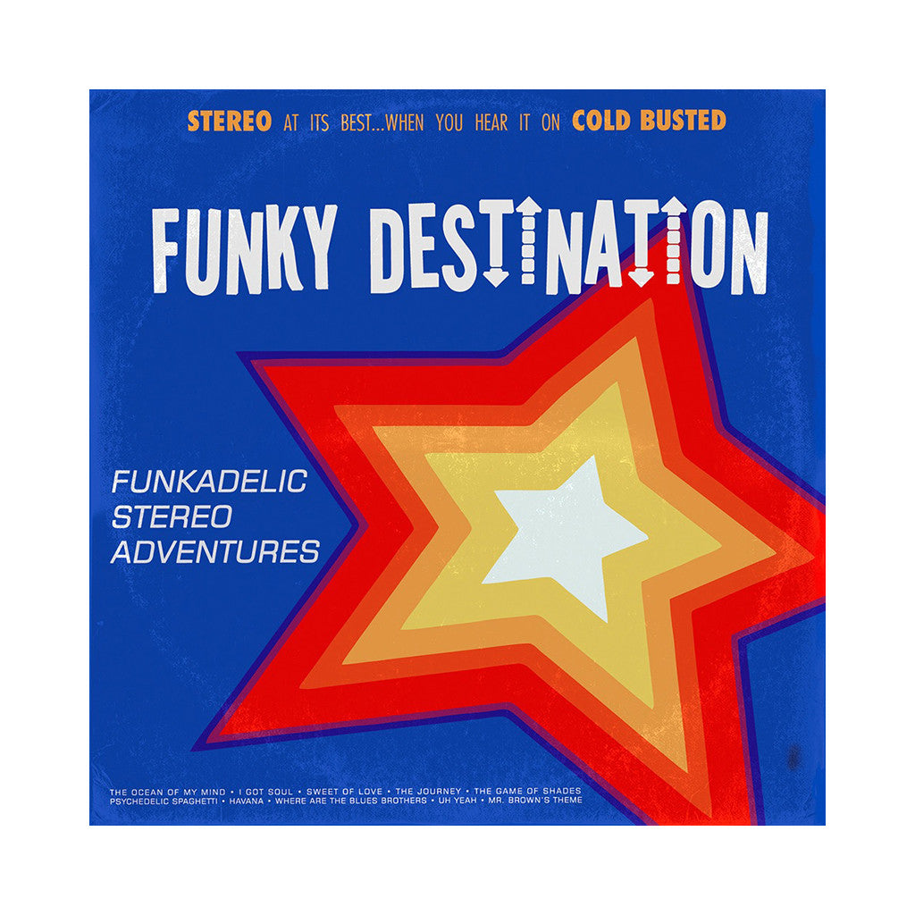 Funky Destination - 'Funkadelic Stereo Adventures' [(Black) Vinyl LP]
