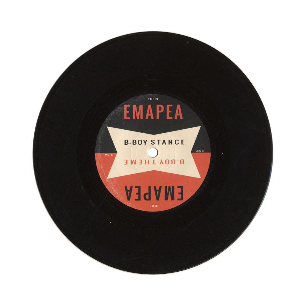 "Emapea - 'B-Boy Stance/ B-Boy Theme' [(Black) 7"" Vinyl Single]"