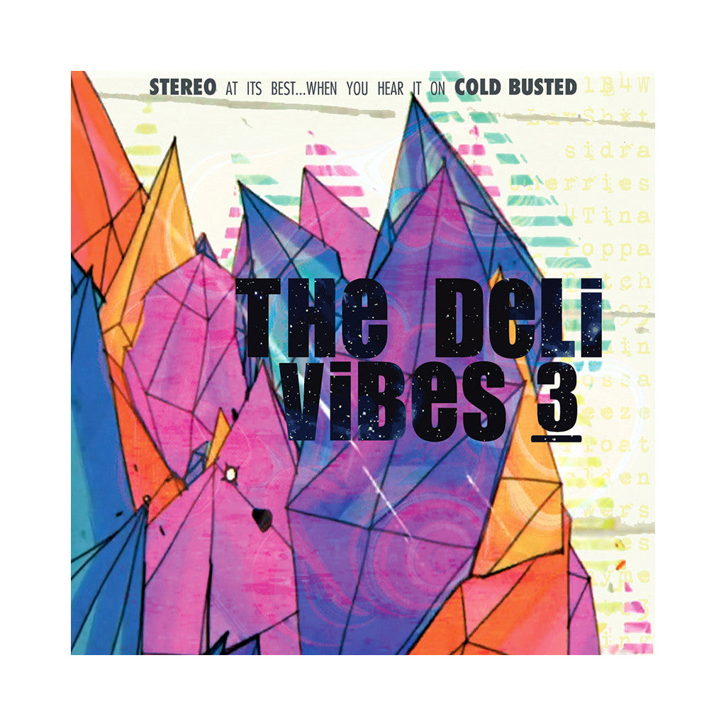 The Deli - 'Vibes 3' [(Black) Vinyl LP]