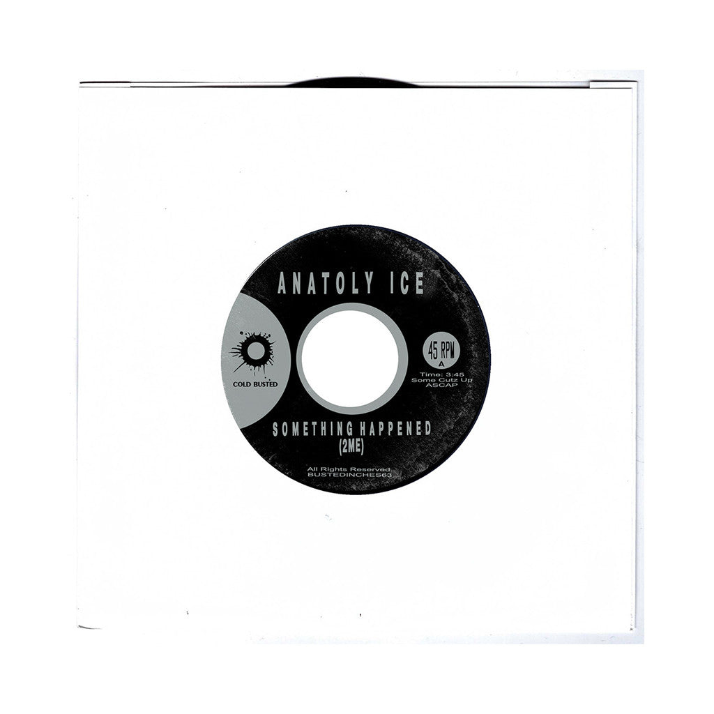 "<!--120170324074903-->Anatoly Ice - 'Something Happened (2Me)/ Light' [(Black) 7"""" Vinyl Single]"