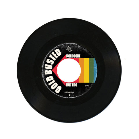 "Poldoore b/w Akshin Alizadeh - 'But I Do b/w Woman' [(Black) 7"" Vinyl Single]"
