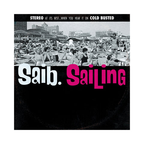 "[""saib. - 'Sailing' [(Black) Vinyl LP]""]"