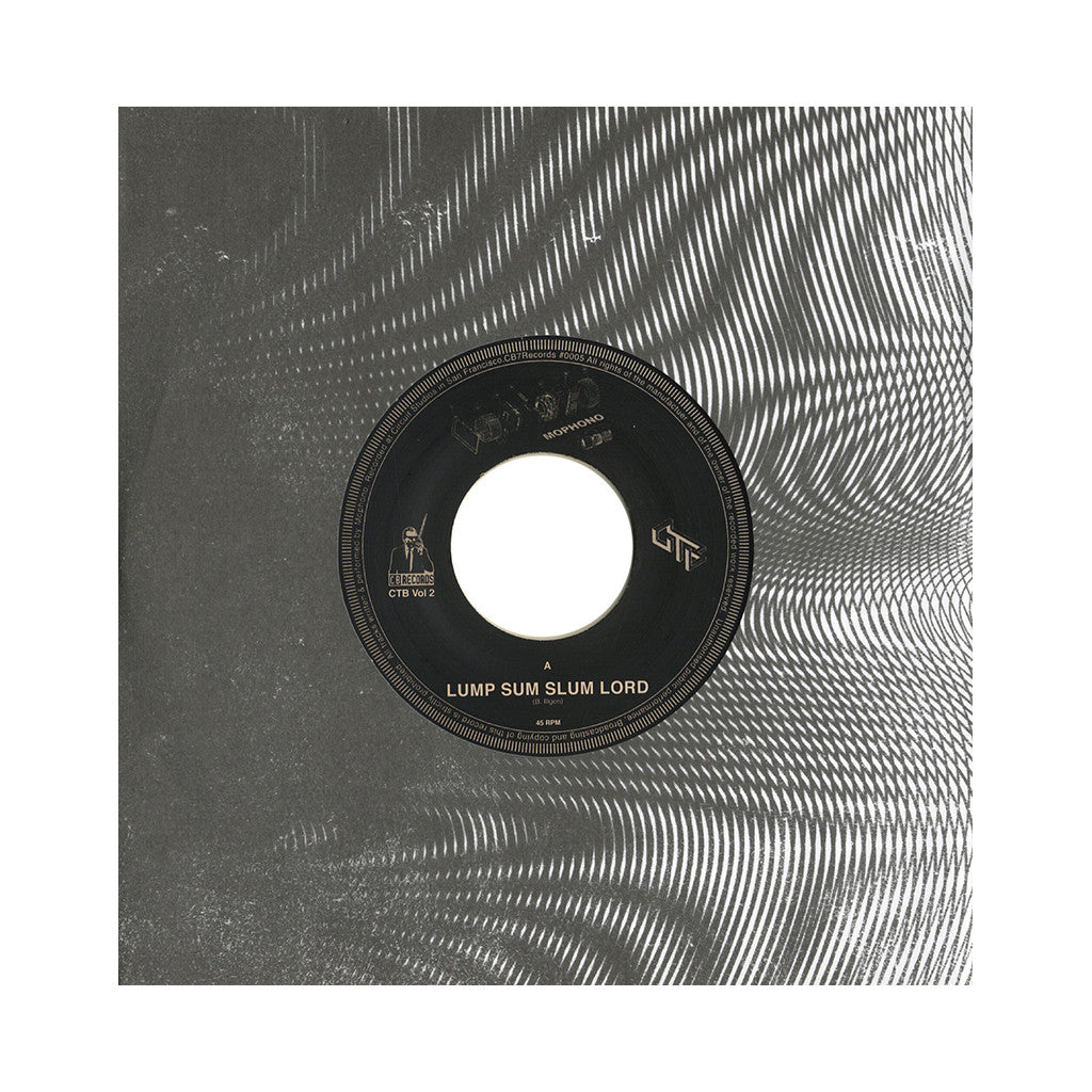 "Mophono - 'Lump Sum Slum Lord/ Lump Sum Slum Lord (Dabrye Remix)' [(Clear) 7"" Vinyl Single]"