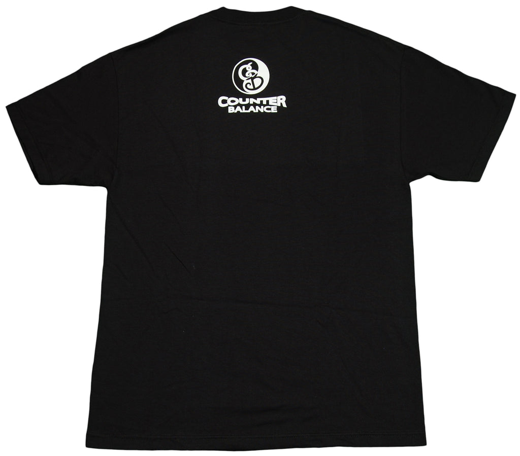 <!--2012032015-->Counter Balance Clothing - 'Freedumb Of Speech' [(Black) T-Shirt]