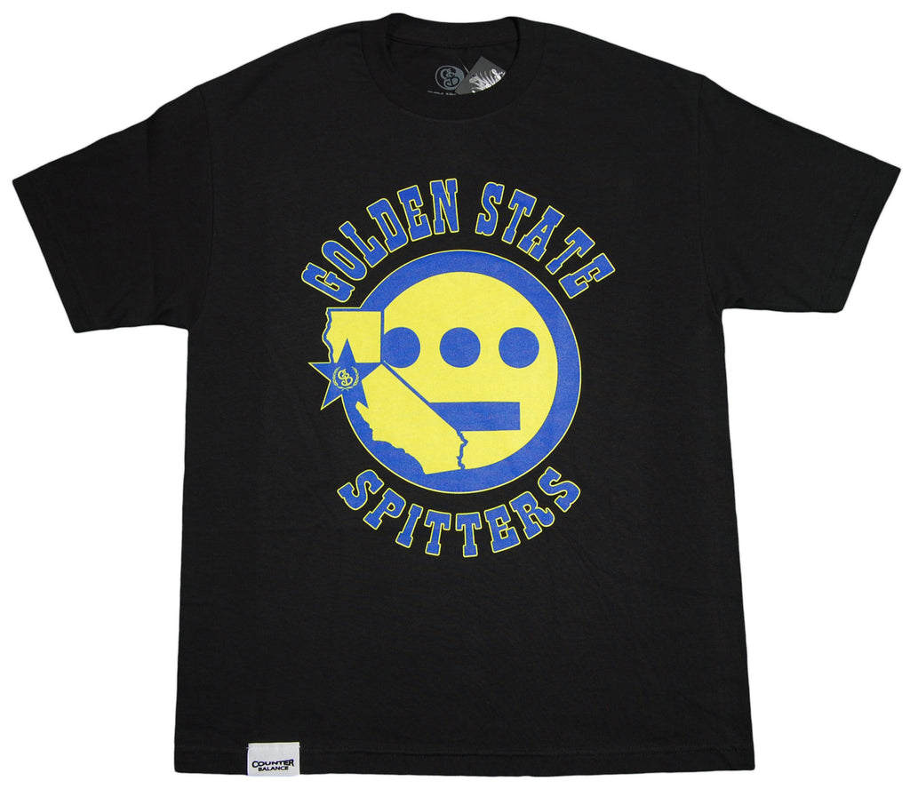 <!--2012032050-->Counter Balance Clothing x Hieroglyphics - 'Golden State Spitters' [(Black) T-Shirt]