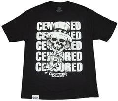 <!--2012032011-->Counter Balance Clothing - 'Home Of The Brave' [(Black) T-Shirt]