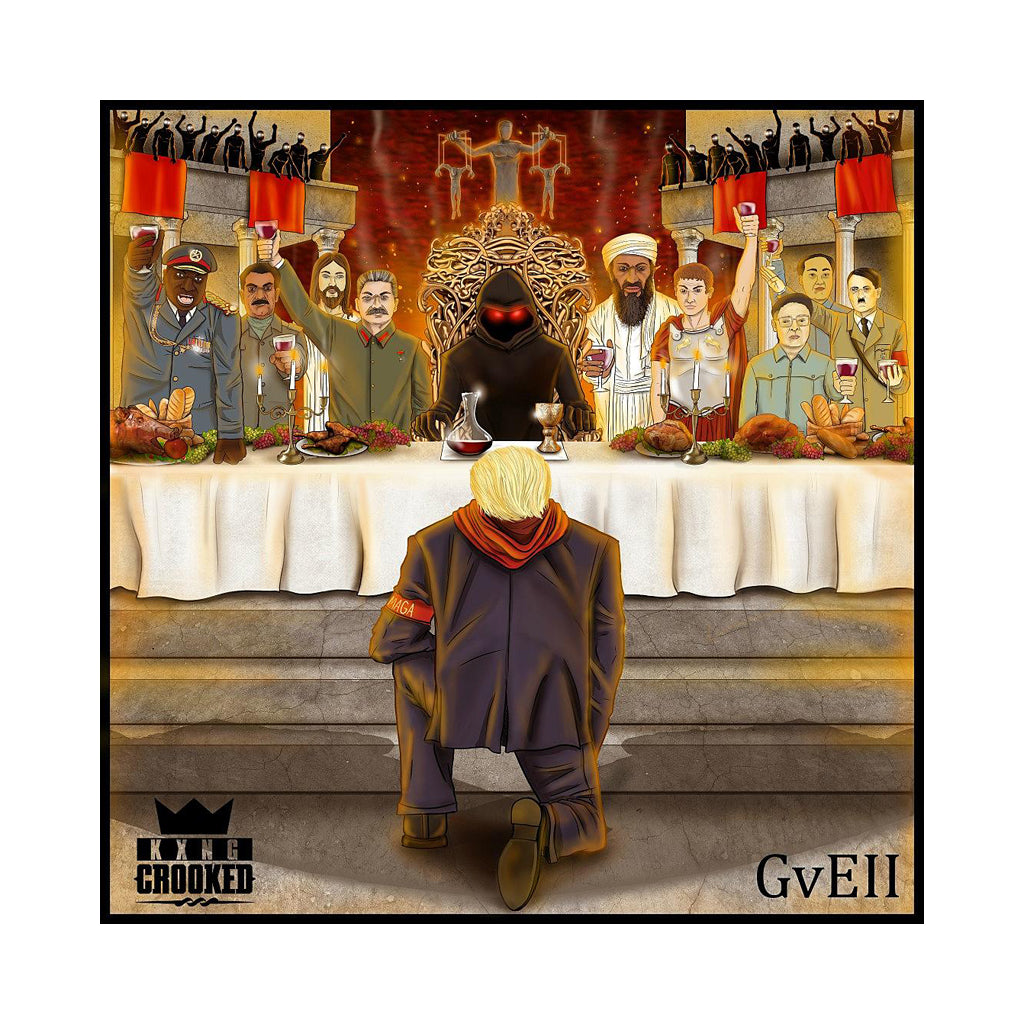 KXNG Crooked - 'Good Vs Evil II: The Red Empire' [CD]