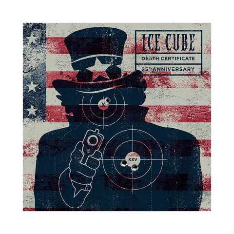 "[""Ice Cube - 'Death Certificate (25th Anniversary Edition)' [(Black) Vinyl [2LP]]""]"