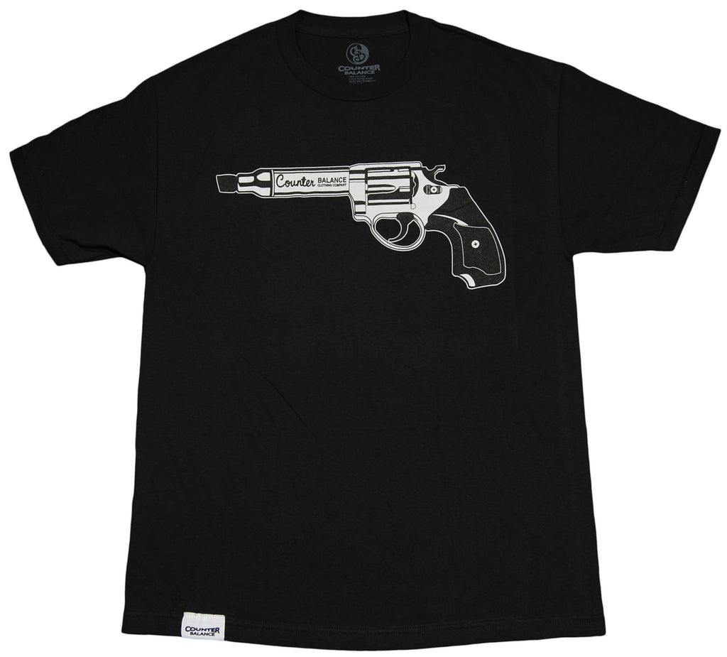 <!--2012032007-->Counter Balance Clothing - 'Weapon Of Art' [(Black) T-Shirt]