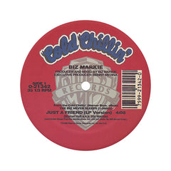 "<!--019890101012529-->Biz Markie - 'Just A Friend' [(Black) 12"" Vinyl Single]"