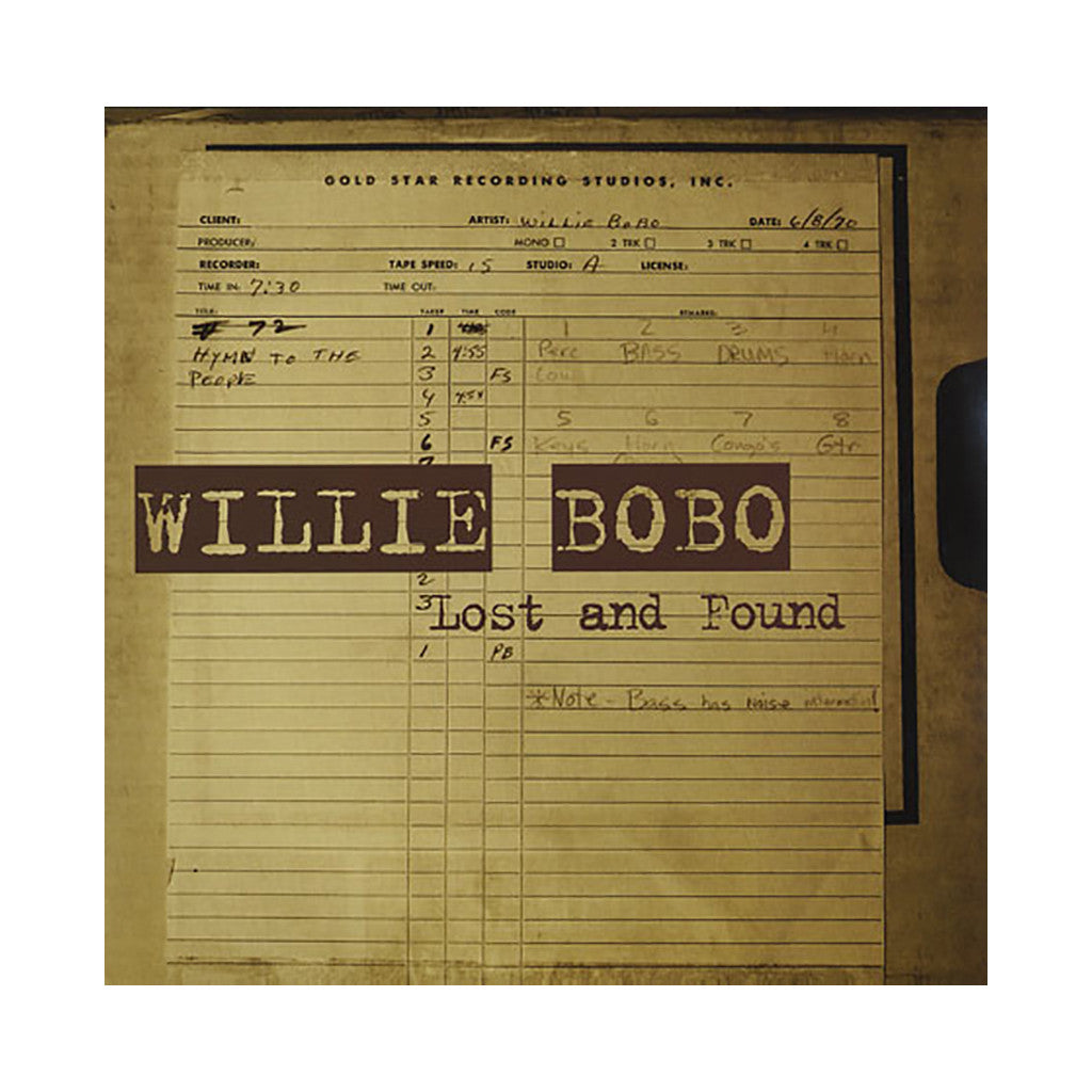 <!--020060919008236-->Willie Bobo - 'Lost And Found' [CD]