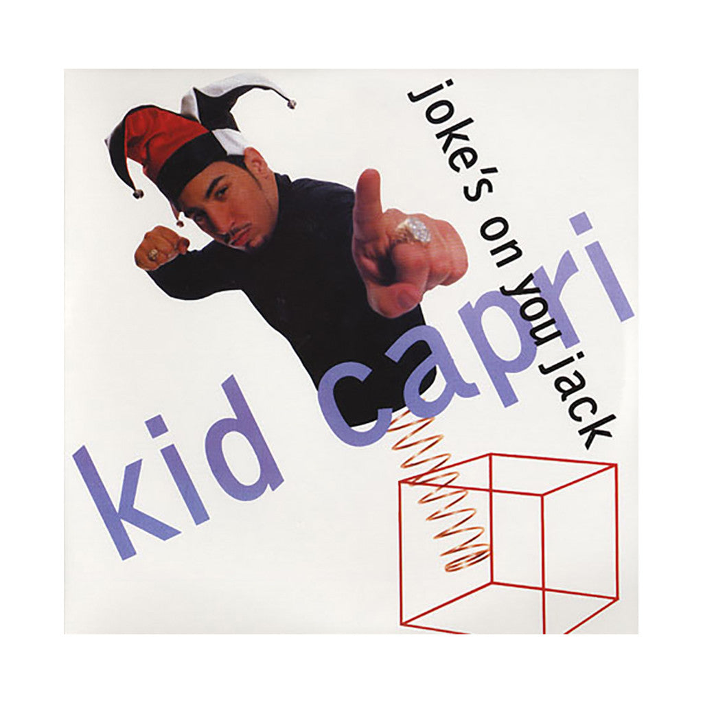"<!--019910101002663-->Kid Capri - 'Joke's On You Jack/ Joke's On You Jack (Remix)' [(Black) 12"" Vinyl Single]"