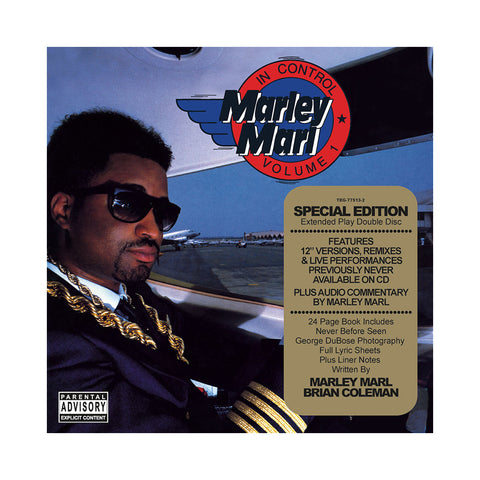"[""Marley Marl - 'In Control Vol. 1 (Deluxe Edition)' [CD [2CD]]""]"