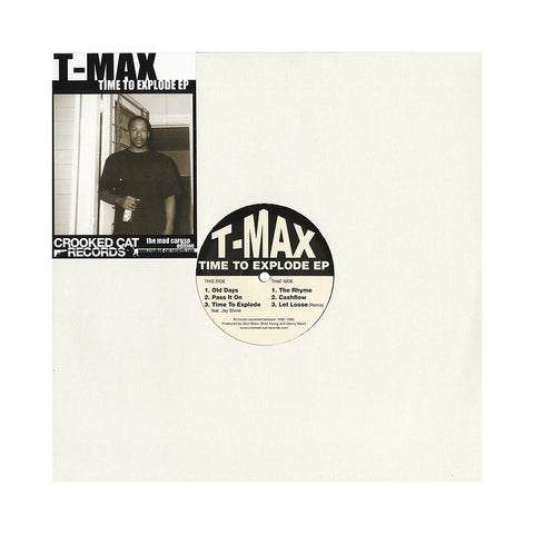 "[""T-Max - 'Time To Explode EP: The Mad Caruso Edition' [(Black) Vinyl EP]""]"