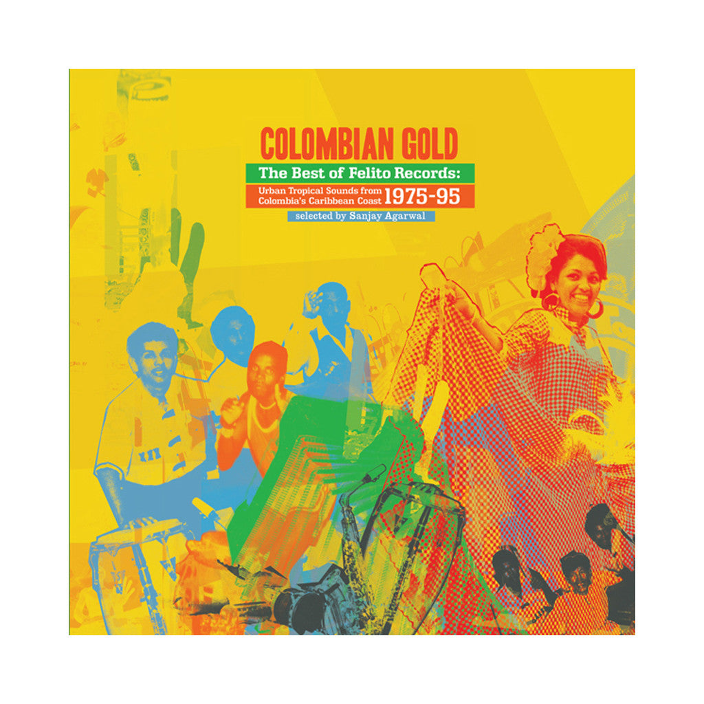 Various Artists - 'Colombian Gold: The Best Of Felito Records' [(Black) Vinyl [2LP]]