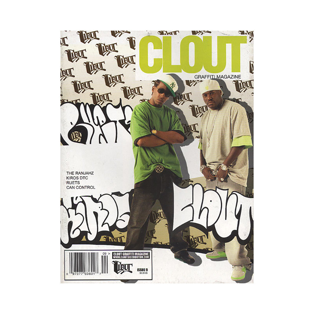 <!--020070101013043-->Clout Graffiti Magazine - 'Issue 9' [Magazine]