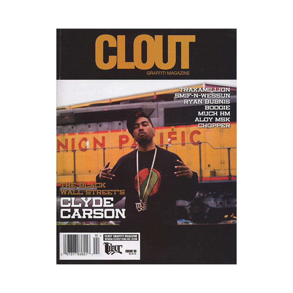 <!--020080916014979-->Clout Graffiti Magazine - 'Issue 10' [Magazine]