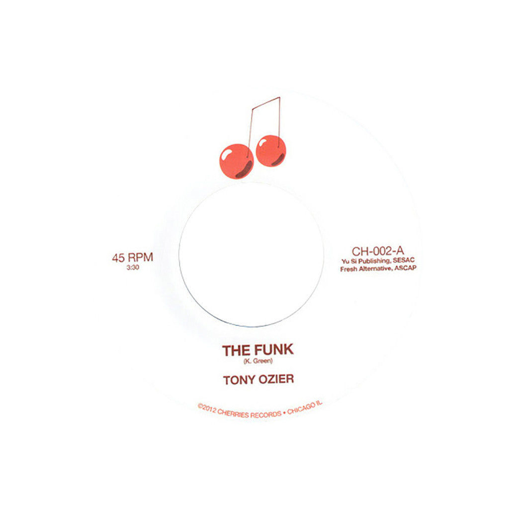"<!--020130212053506-->Tony Ozier - 'The Funk/ Back To The Mitten' [(Black) 7"" Vinyl Single]"