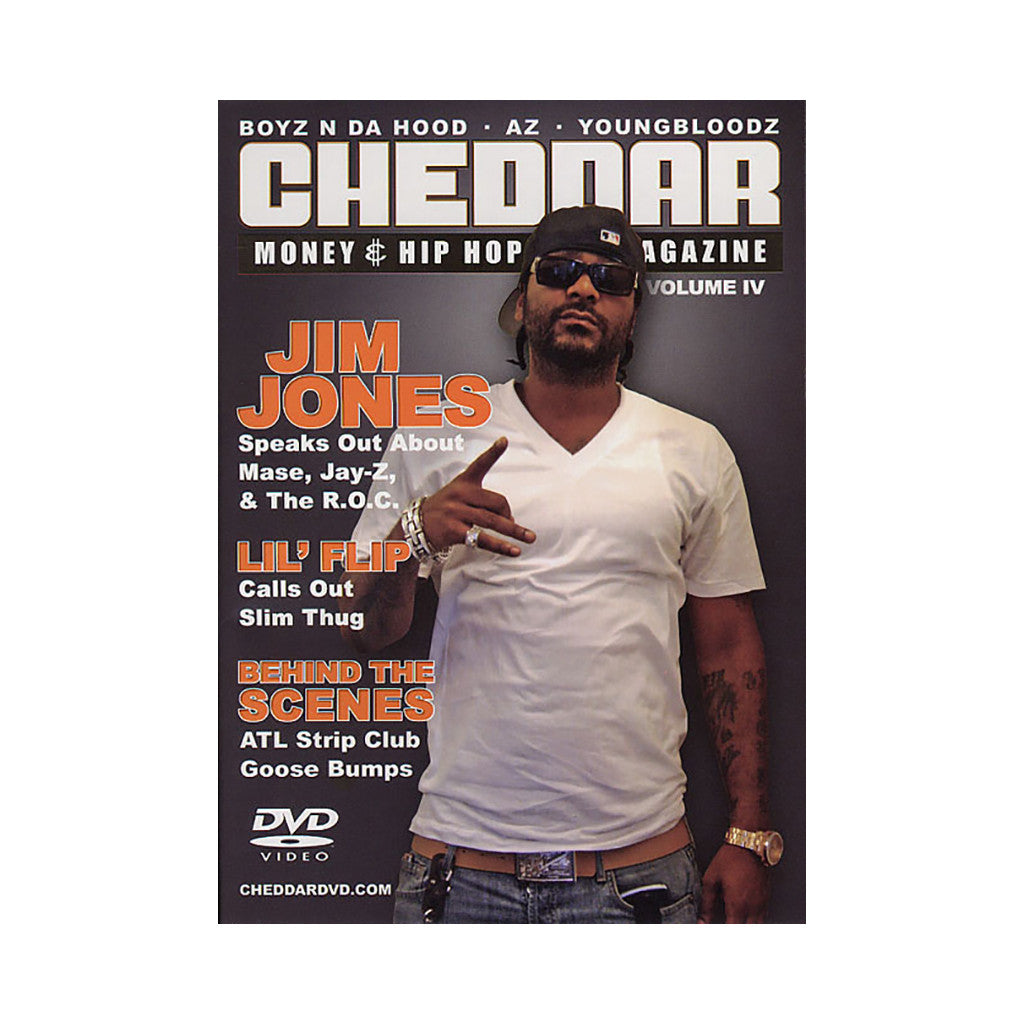 <!--020051108006113-->Chedder DVD Magazine - 'Vol. 4 (Bun B On Cover)' [DVD]