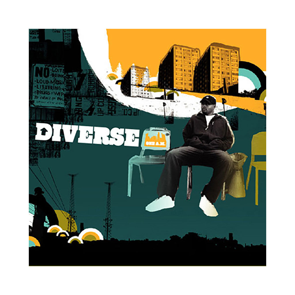 <!--019000101068001-->Diverse - 'One A.M.' [(Black) Vinyl [2LP]]
