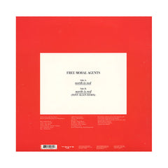 "<!--120100928025349-->Free Moral Agents - 'North Is Red/ North Is Red (Tony Allen Remix)' [(Black) 10"" Vinyl Single]"