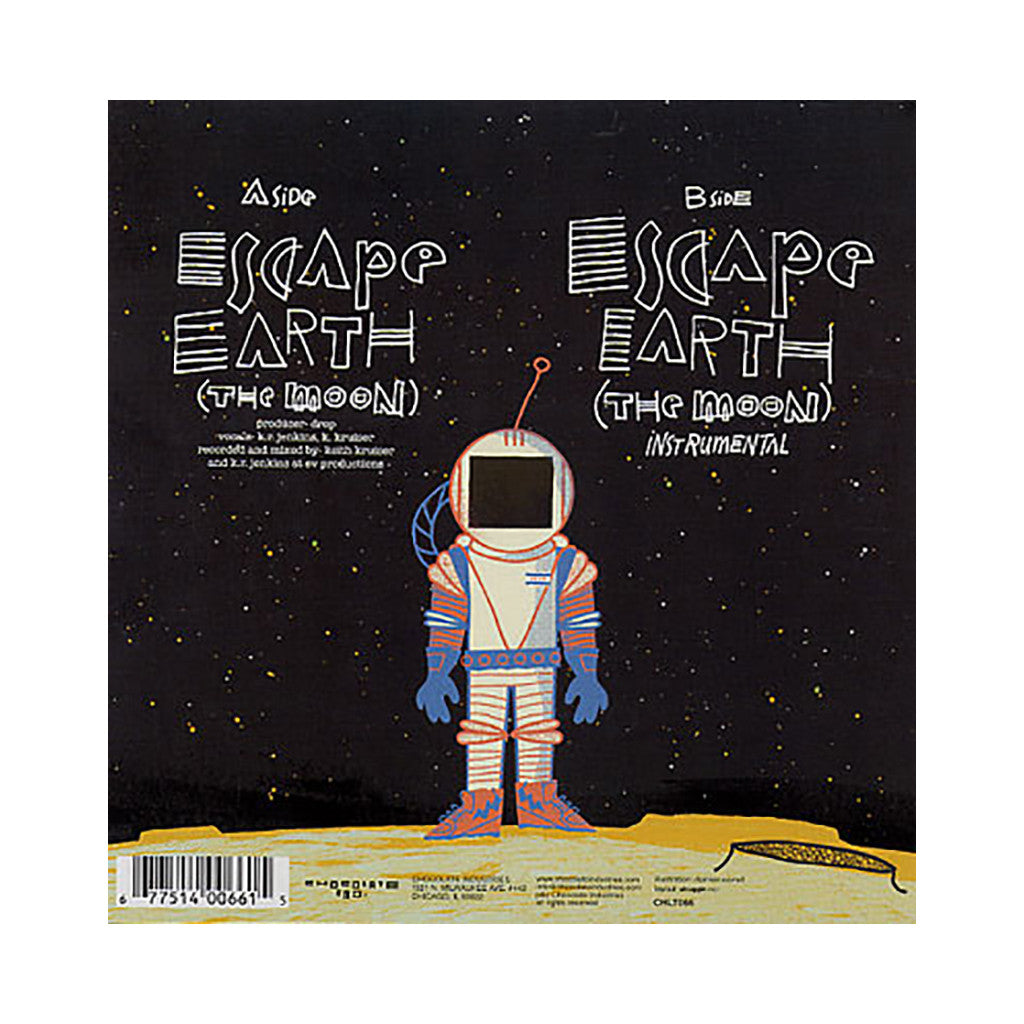 "<!--120090217016160-->Diverse - 'Escape Earth (The Moon)' [(Black) 7"""" Vinyl Single]"