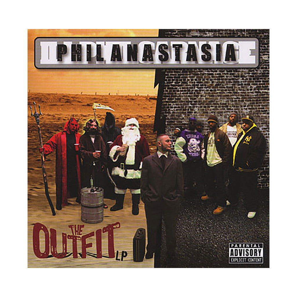 <!--020090505016554-->Phil Anastasia - 'The Outfit LP' [CD]