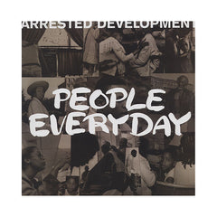 "<!--1992010154-->Arrested Development - 'People Everyday (Remixes)/ People Every Day/ Children Play With Earth' [(Black) 12"" Vinyl Single]"