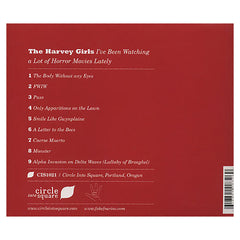 <!--120100921000821-->The Harvey Girls - 'I've Been Watching A Lot Of Horror Movies Lately' [CD]