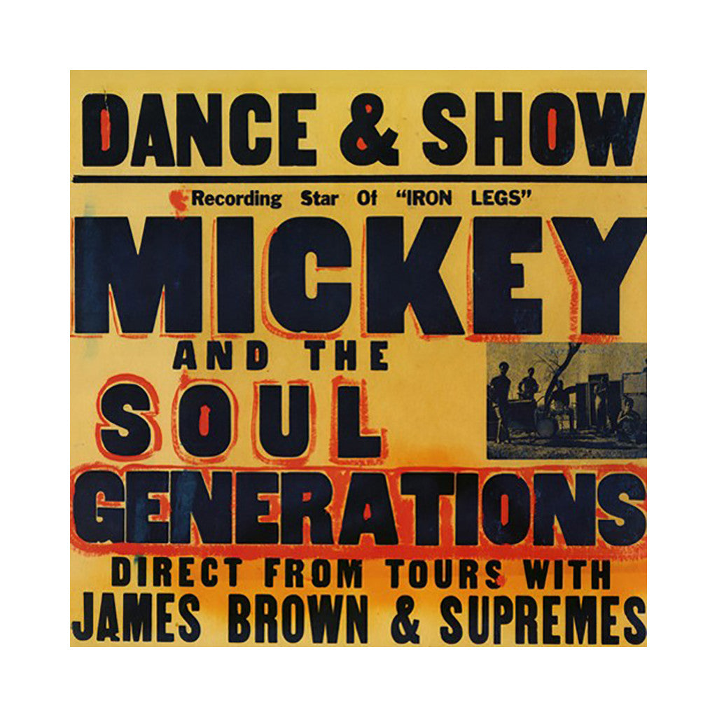 <!--120130730002167-->Mickey & The Soul Generation - 'Iron Leg: The Complete Mickey & The Soul Generation' [(Black) Vinyl [3LP]]