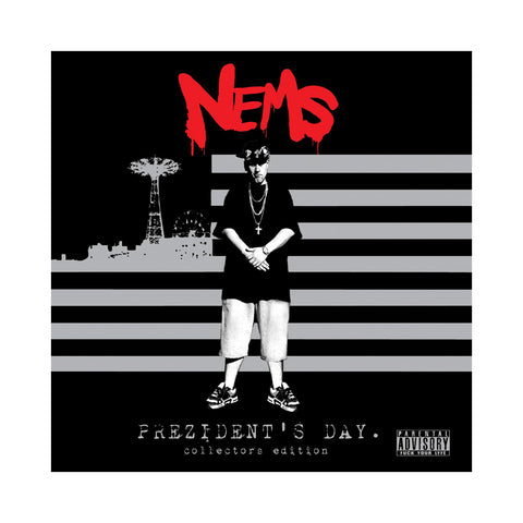 "[""Nems - 'Prezident's Day (Collector's Edition)' [(Black) Vinyl [2LP]]""]"