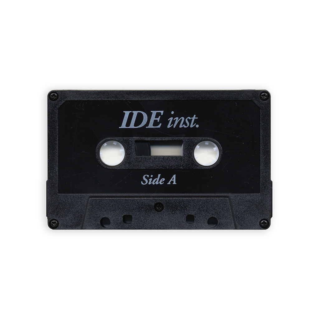 IDE - 'inst.' [(Black) Cassette Tape]