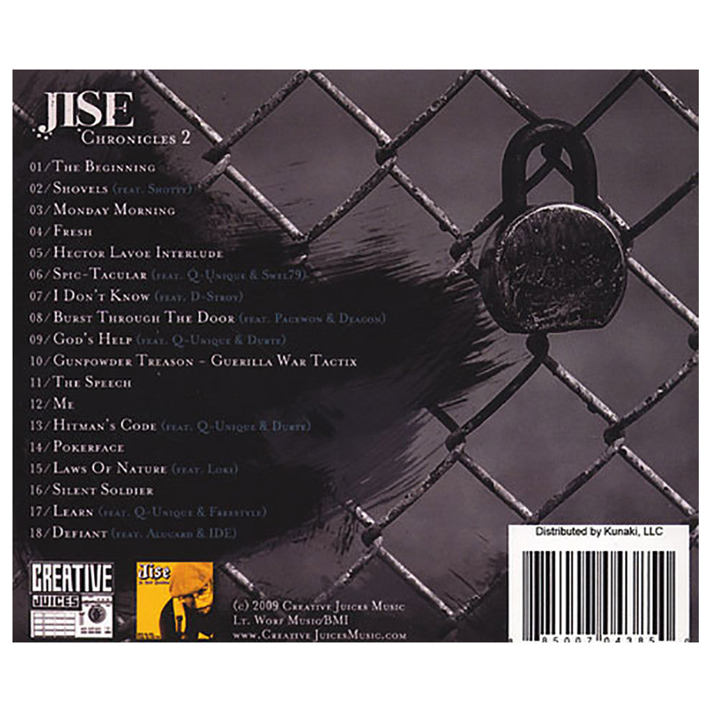 Jise - 'Chronicles 2' [CD]