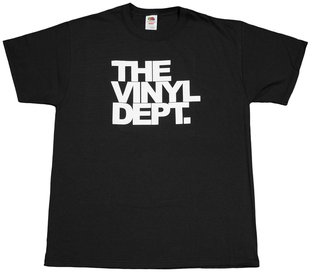 <!--2012022857-->Aaron Active - 'Vinyl Dept.' [(Black) T-Shirt]