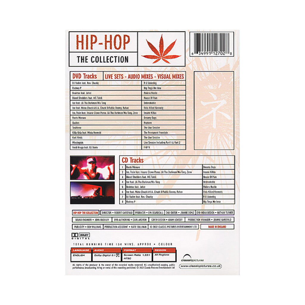 <!--020020101006414-->Hip Hop - 'The Collection' [DVD]