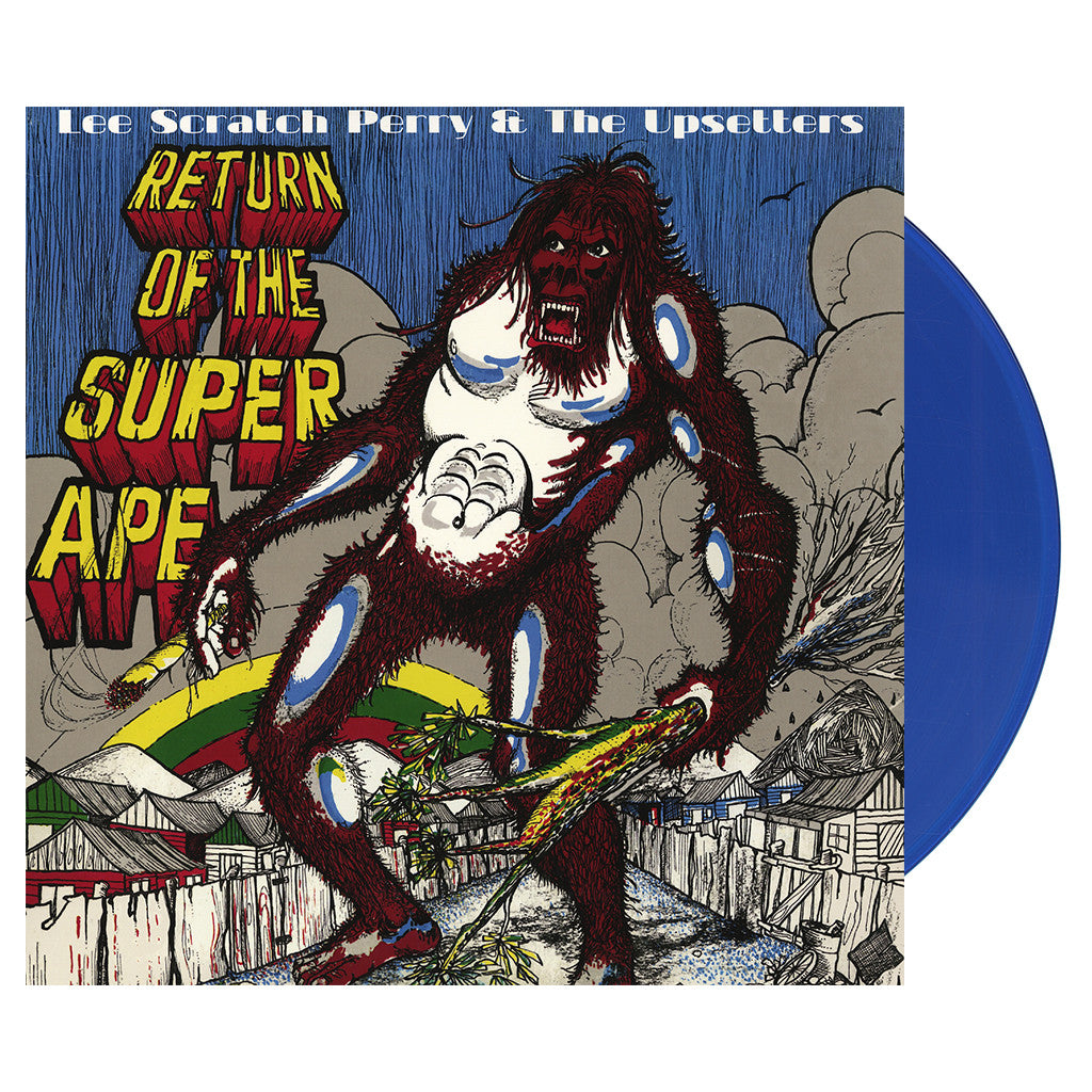 Lee Scratch Perry & The Upsetters - 'Return Of The Super Ape (Cleopatra Records)' [(Blue) Vinyl LP]