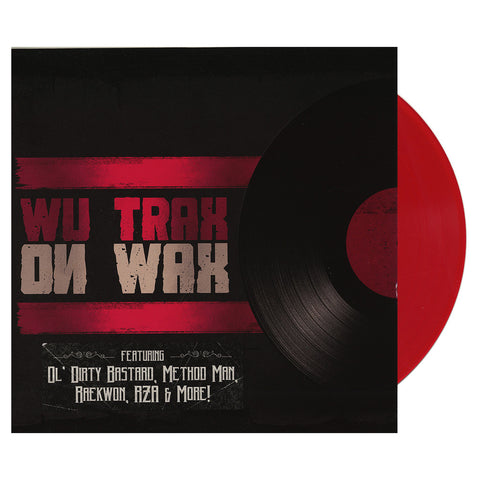 Various Artists - 'Wu Trax On Wax' [(Red) Vinyl LP]