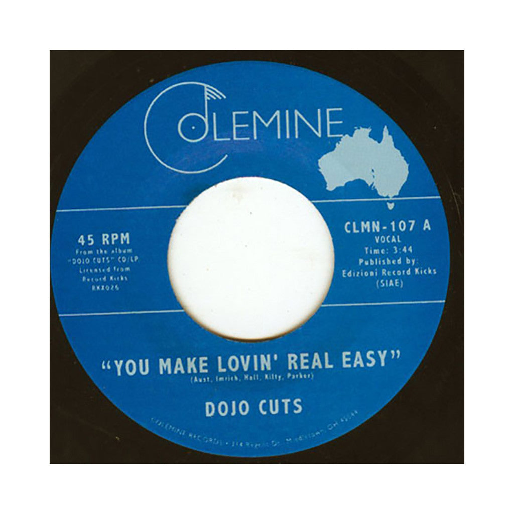"<!--2010062915-->Dojo Cuts - 'You Make Lovin' Real Easy/ Love Me Right (Lola's Lament)' [(Black) 7"" Vinyl Single]"