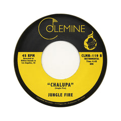 "<!--120130507056358-->Jungle Fire - 'Firewalker/ Chalupa' [(Black) 7"" Vinyl Single]"