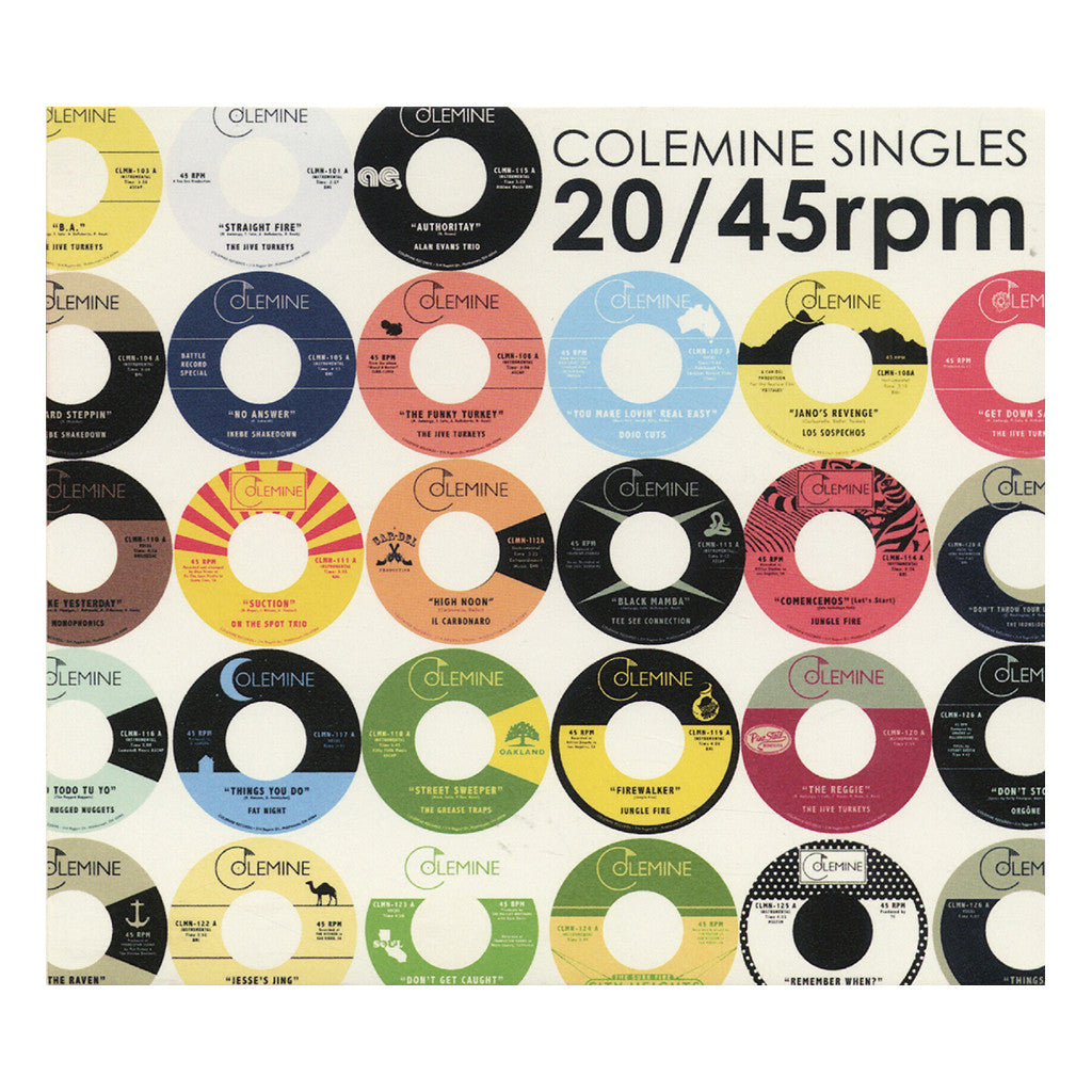 <!--120140805064662-->Various Artists - 'Colemine Singles' [CD]
