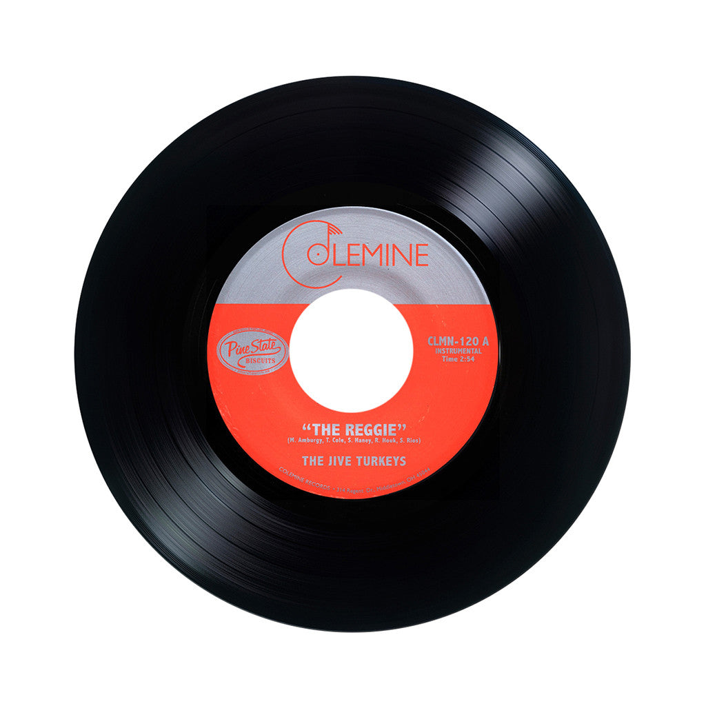"The Jive Turkeys - 'The Reggie/ Duck's Dirge' [(Black) 7"" Vinyl Single]"